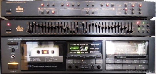 dbx Tape-Umschalter