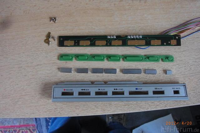 Tastaturpanel Aiwa AD-M600E