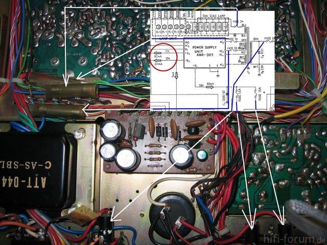 Fuses SX 525 FVZW Models