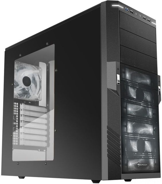 Sharkoon T9 Value Miditower ATX White