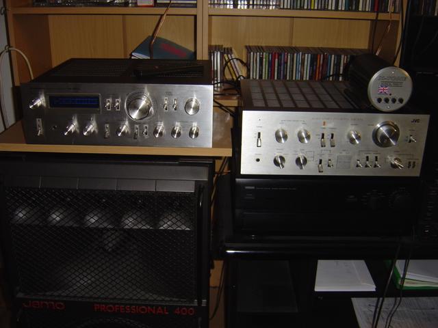Pioneer SA-8800 und JVC JA-S71