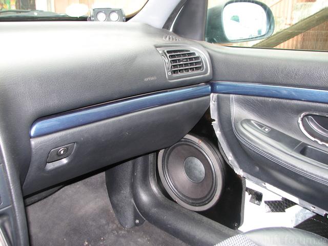 Test Im Peugeot 406 Mit B&c 25cm Lautsprecher