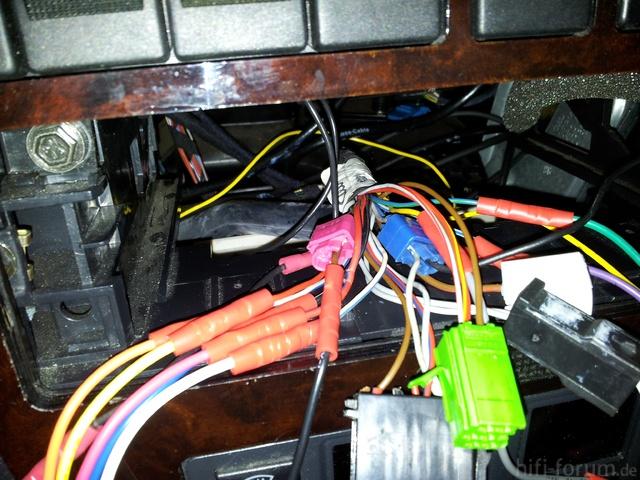 probleme mit a4 b5 soundsystem, car-hifi: anschluss, verkabelung und