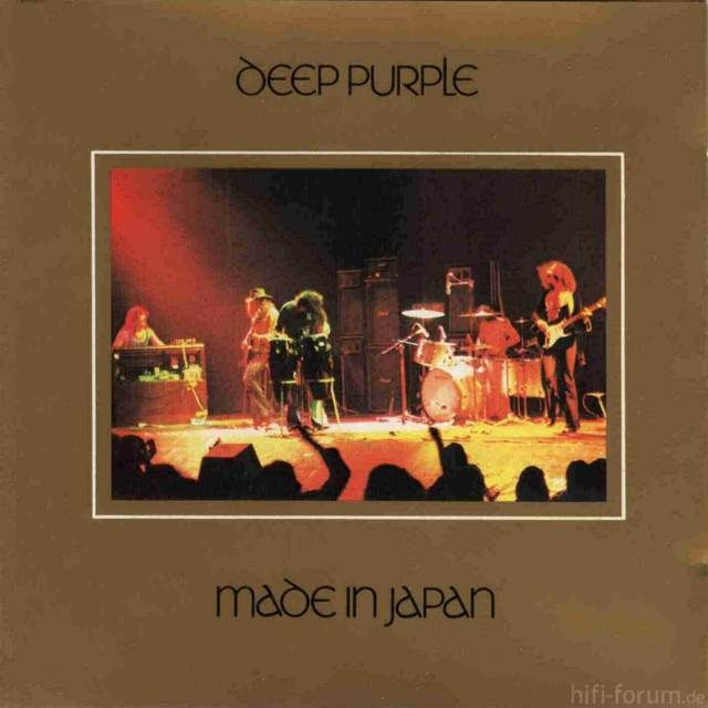 Deep Purple   Made In Japan   Front