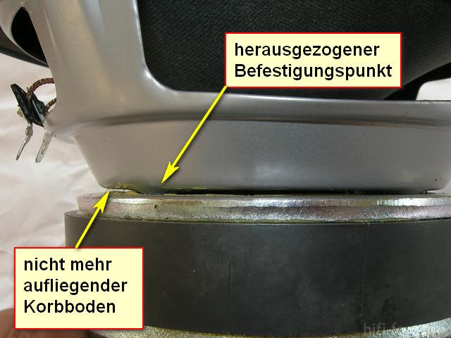 schiefer Magnet
