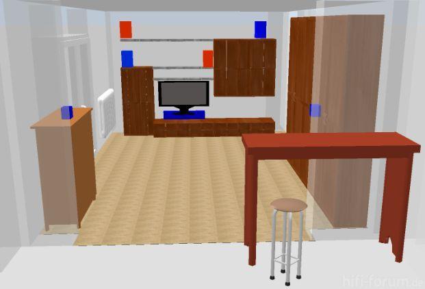Plan - Draufsicht 3D
