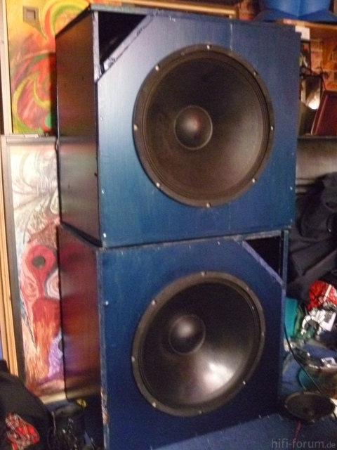 "18"" Selbstbau Subwoofer"