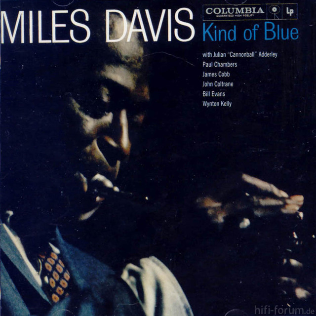 Miles Davis Kind Of Blue Frontal1