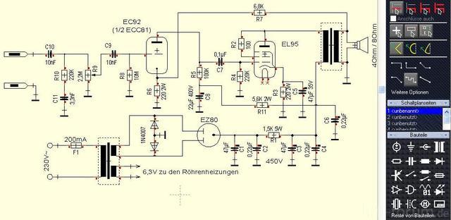Schaltplan AMP