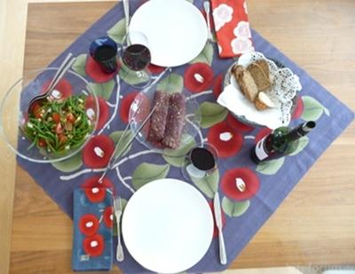 Lamm Mit Bohnensalat