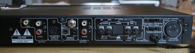 Pioneer TX-V 1160 Back