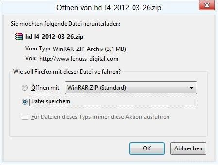 Neustes Software Update