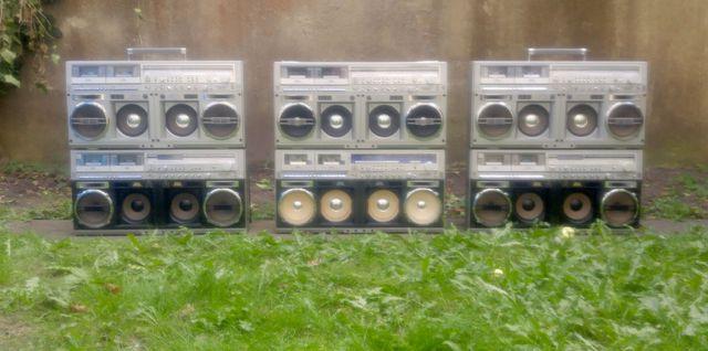 Sharp GF 777, Sharp GF 999, Sharp GF 1000, Boombox, Ghettoblaster