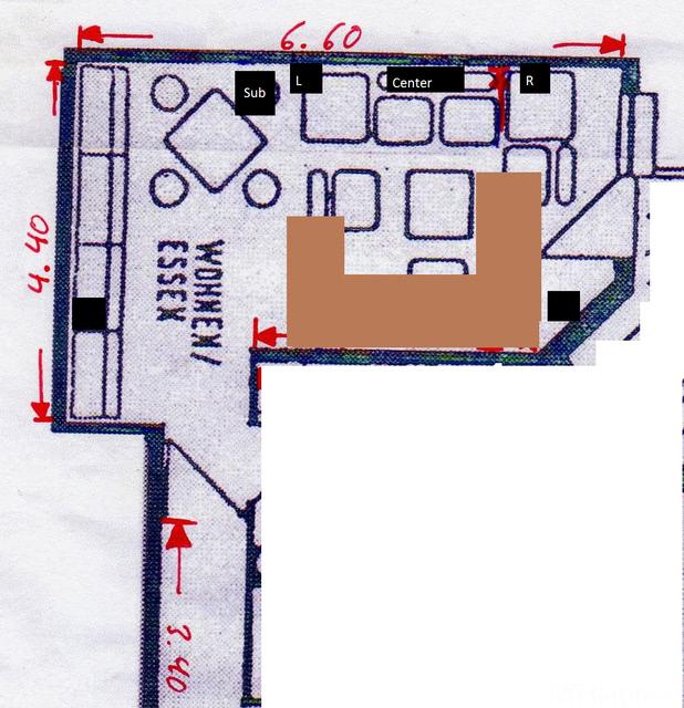 Plan Wohnzimmer