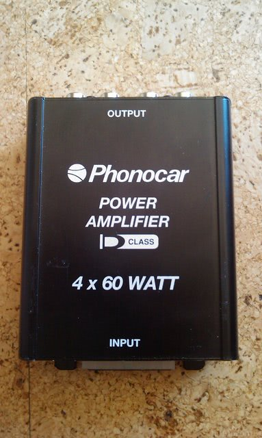 Phonocar Verstärker