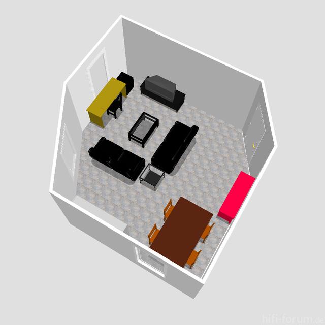 Wohnzimmer 3D