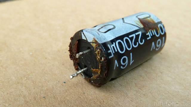 Kondensator defekt