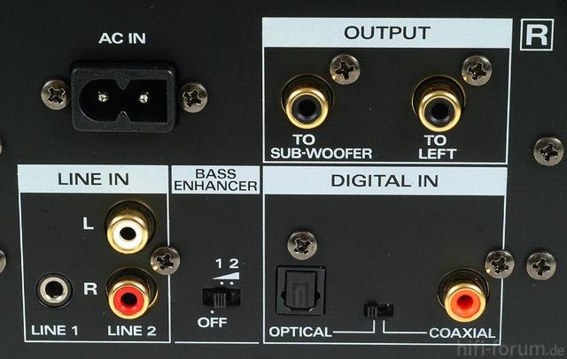 MA15D Back Panel