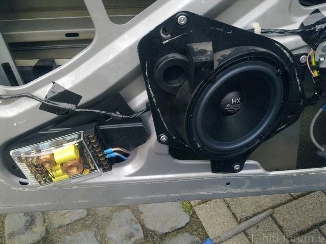 Lautsprecher, Eingebaut