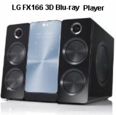 LG FX166 Blu-ray Player