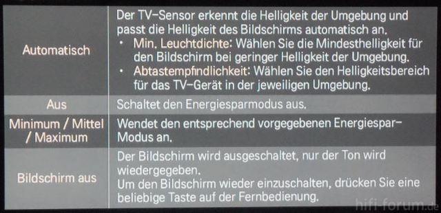LG TV-Sensor
