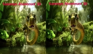 Sammys Abenteuer 3D Best POP-OUT