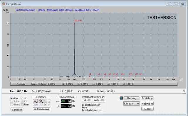 Xonar Neu 200 Hz