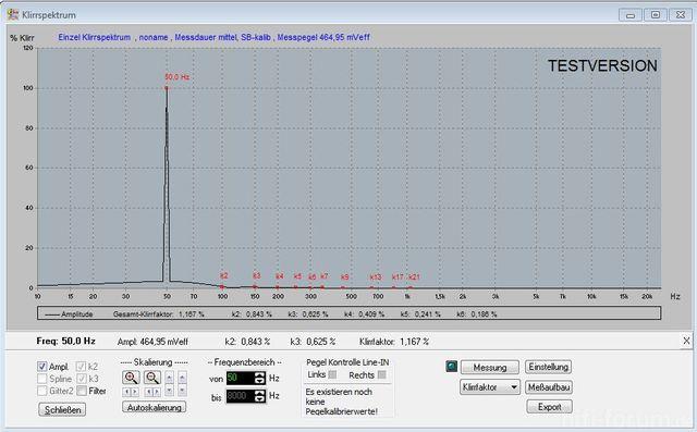 Xonar Neu 50 Hz