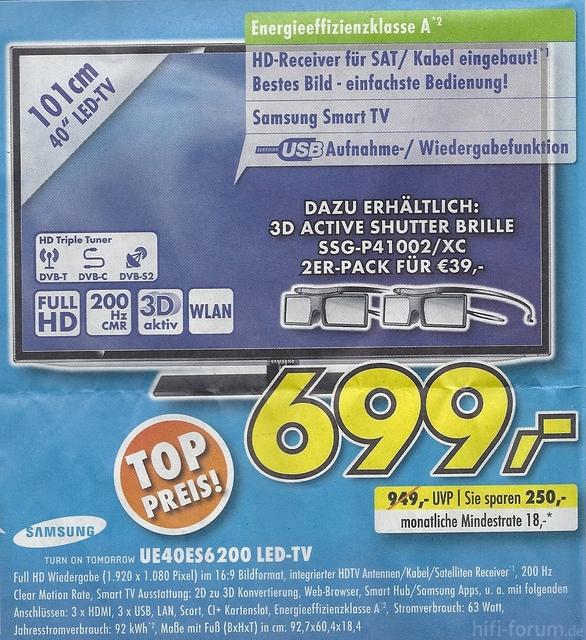 Samsung UE40ES6200