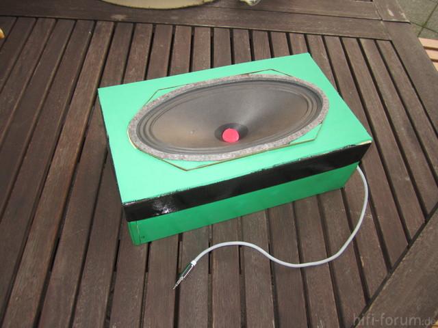 Schuhkisten Lautsprecher