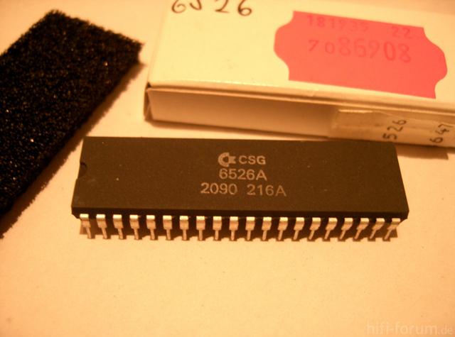 C 64 6526 CIA Ein Ausgabechip