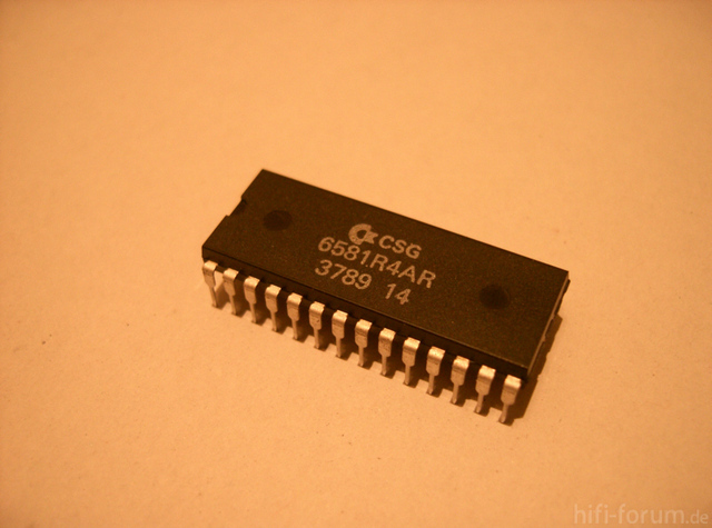 C 64 6581 SID Synthesizer