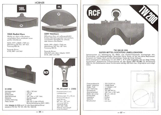 RCF TW 200 1