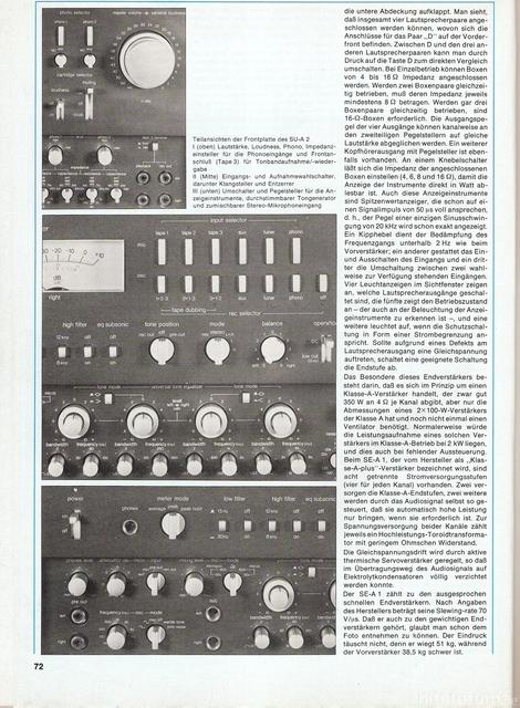 Technics SU SE 3
