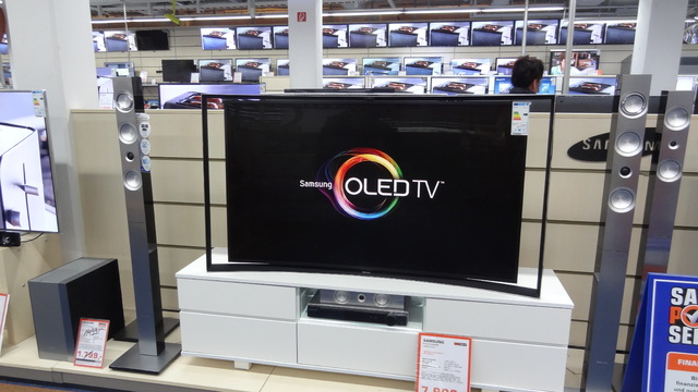 Samsung curved OLED-TV-Erfurt-Saturn