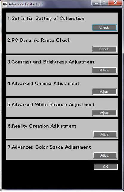Advanced Gamma Adjustment