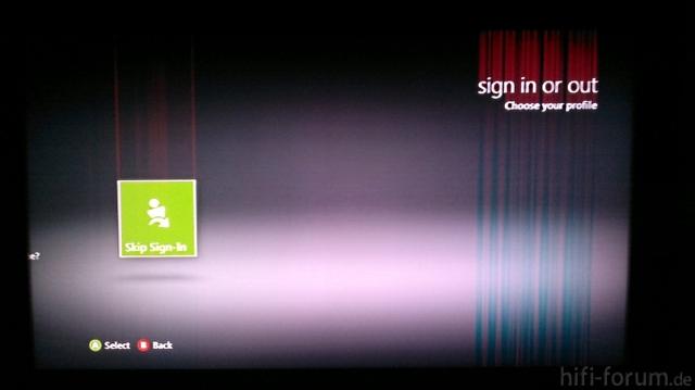 Bildfehler Bei HDMI-Betrieb