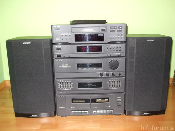 Sony Stereoanlage