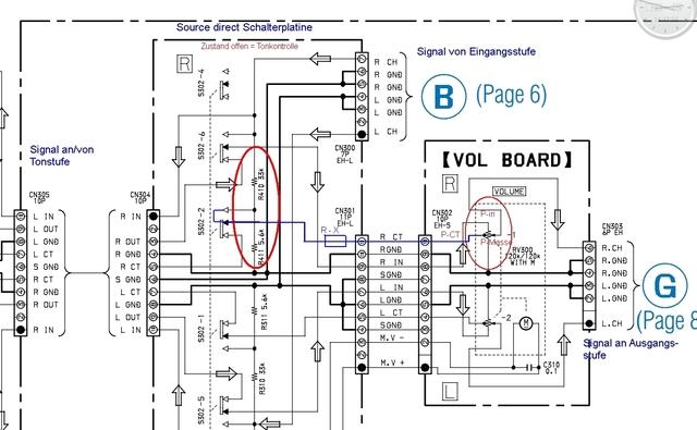 Volume Poti Austausch Sony TA-FB940 - Von 4- auf 3-PIN - ERLEDIGT ...