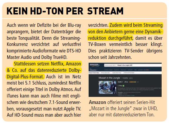 Kein HD Per Stream