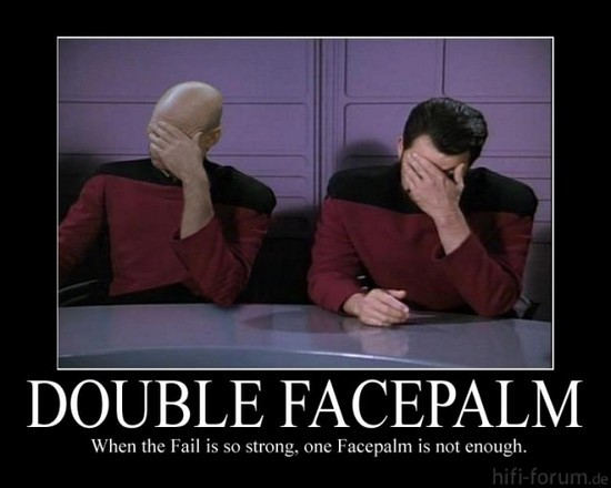 Double Facepalm Www Zaaap  Net