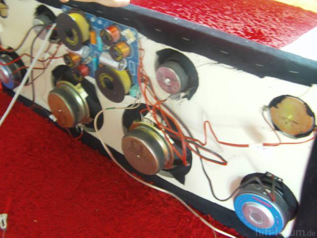Soundboard Von Unten FQW