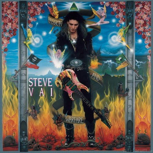 Steve Vai Passion And Warfare Cd