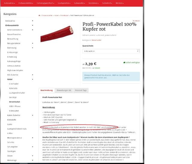 Schweißer Kabel vs Car Hifi Kabel, Car-Hifi: Anschluss, Verkabelung ...