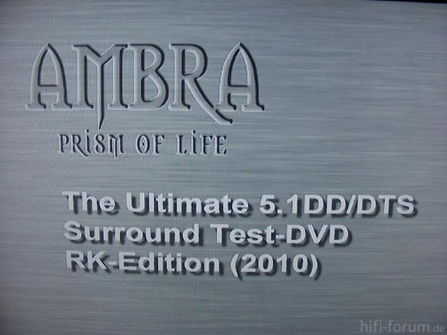 Test DVD