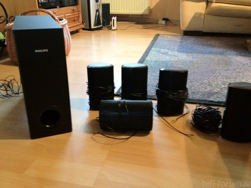 PHILIPS HTS3560 Boxen