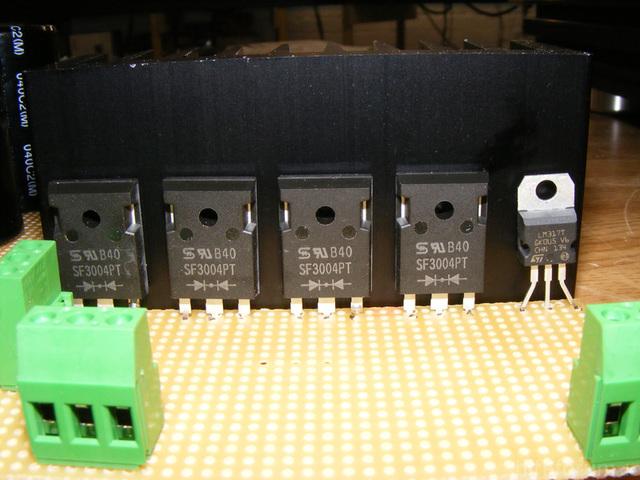 Gleichrichterdioden 30A Max