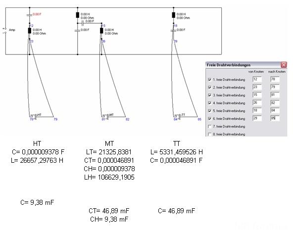 Frequenzweichen Bauplan