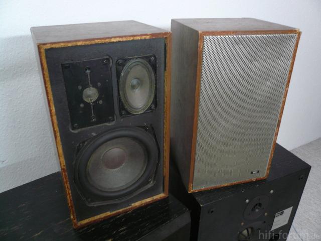 WHD Regalboxen 3-Wege Ca. 1970