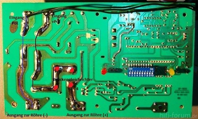 Botex SP-1500 Platine (unten)